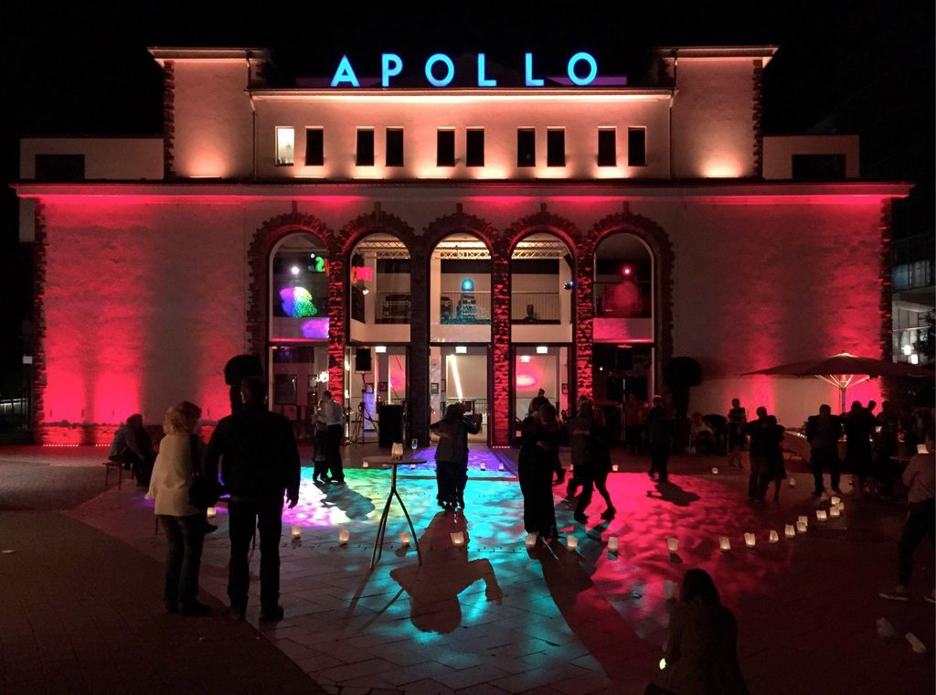 Tango Open Air Milonga Apollo zur NAcht der tausend Lichter